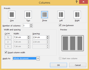 How to make a tri-fold in MS Word – MS Office stories